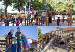 Klettergerüst Schulhof : Ein neues klettergerüst u schulförderverein biesenthal
